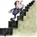 Subindo a escada para o sucesso
